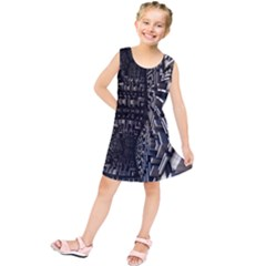 Fractal Art Pattern Kids  Tunic Dress