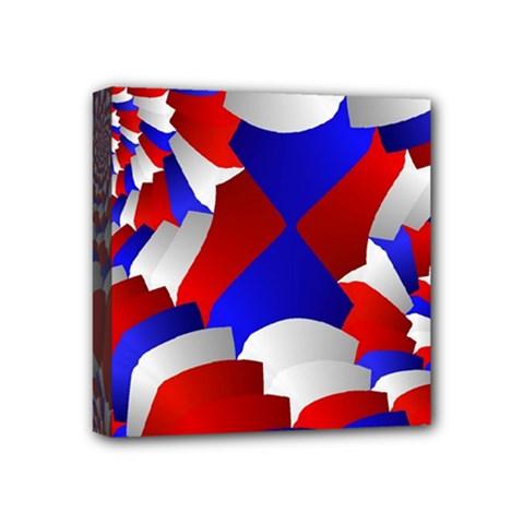 Happy Memorial Day Mini Canvas 4  x 4