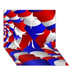 Happy Memorial Day Clover 3d Greeting Card (7x5)
