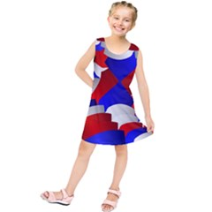 Happy Memorial Day Kids  Tunic Dress