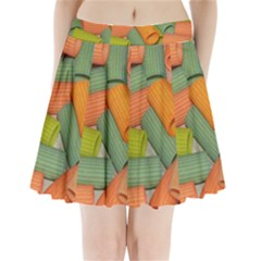 Macaroni Rigatoni Rotini Lasagna Corkscrew Pleated Mini Skirt