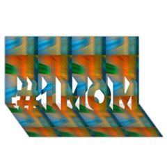 Wall Of Colour Duplication #1 Mom 3d Greeting Cards (8x4)