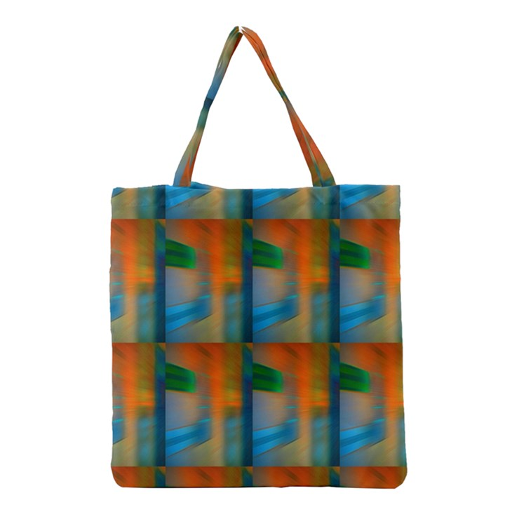 Wall Of Colour Duplication Grocery Tote Bag