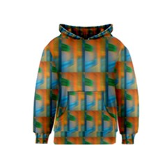 Wall Of Colour Duplication Kids  Pullover Hoodie