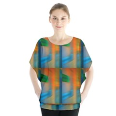 Wall Of Colour Duplication Blouse