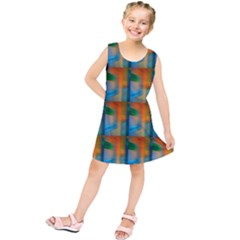 Wall Of Colour Duplication Kids  Tunic Dress
