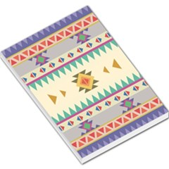 Your First Aztec Pattern Large Memo Pads