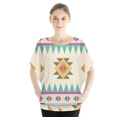 Your First Aztec Pattern Blouse