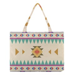 Your First Aztec Pattern Medium Tote Bag