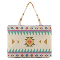 Your First Aztec Pattern Medium Zipper Tote Bag