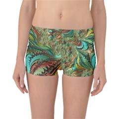 Fractal Artwork Pattern Digital Boyleg Bikini Bottoms
