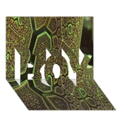 Fractal Complexity 3d Dimensional BOY 3D Greeting Card (7x5)