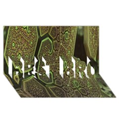 Fractal Complexity 3d Dimensional BEST BRO 3D Greeting Card (8x4)