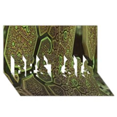 Fractal Complexity 3d Dimensional BEST SIS 3D Greeting Card (8x4)