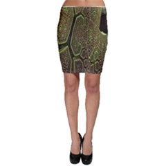 Fractal Complexity 3d Dimensional Bodycon Skirt