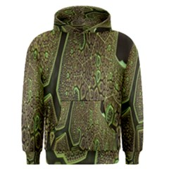 Fractal Complexity 3d Dimensional Men s Pullover Hoodie