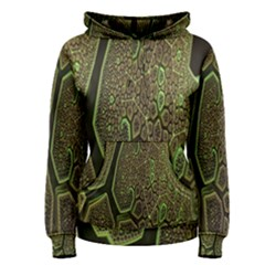 Fractal Complexity 3d Dimensional Women s Pullover Hoodie