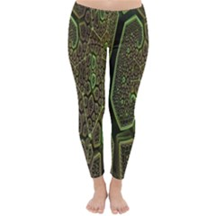 Fractal Complexity 3d Dimensional Classic Winter Leggings