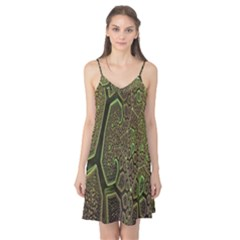Fractal Complexity 3d Dimensional Camis Nightgown