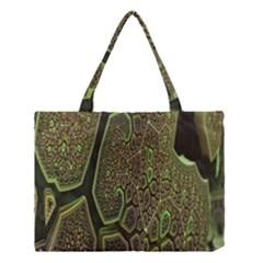 Fractal Complexity 3d Dimensional Medium Tote Bag
