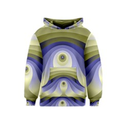 Fractal Eye Fantasy Digital  Kids  Pullover Hoodie
