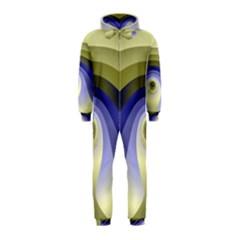 Fractal Eye Fantasy Digital  Hooded Jumpsuit (Kids)