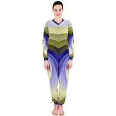 Fractal Eye Fantasy Digital  OnePiece Jumpsuit (Ladies)