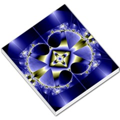 Fractal Fantasy Blue Beauty Small Memo Pads