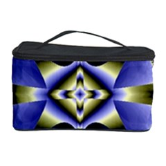 Fractal Fantasy Blue Beauty Cosmetic Storage Case