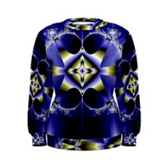 Fractal Fantasy Blue Beauty Women s Sweatshirt
