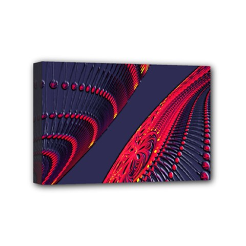 Fractal Fractal Art Digital Art Mini Canvas 6  x 4