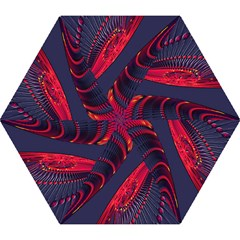 Fractal Fractal Art Digital Art Mini Folding Umbrellas