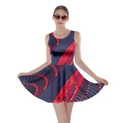 Fractal Fractal Art Digital Art Skater Dress