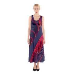 Fractal Fractal Art Digital Art Sleeveless Maxi Dress