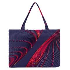 Fractal Fractal Art Digital Art Medium Zipper Tote Bag