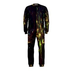 Fractal Flame Light Energy OnePiece Jumpsuit (Kids)