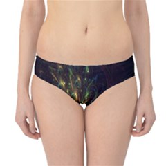Fractal Flame Light Energy Hipster Bikini Bottoms
