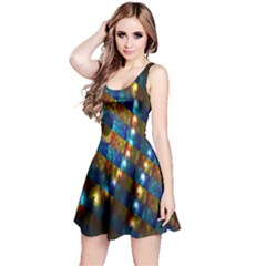 Fractal Fractal Art Digital Art  Reversible Sleeveless Dress