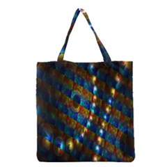 Fractal Fractal Art Digital Art  Grocery Tote Bag