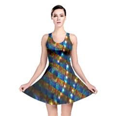 Fractal Fractal Art Digital Art  Reversible Skater Dress