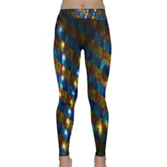 Fractal Fractal Art Digital Art  Classic Yoga Leggings