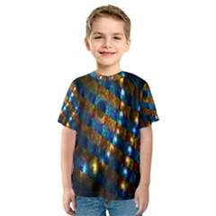 Fractal Fractal Art Digital Art  Kids  Sport Mesh Tee