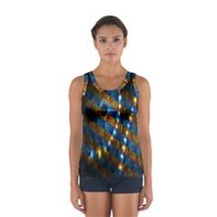 Fractal Fractal Art Digital Art  Women s Sport Tank Top