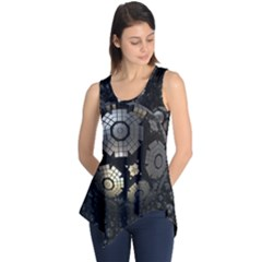 Fractal Sphere Steel 3d Structures  Sleeveless Tunic