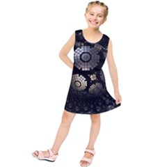 Fractal Sphere Steel 3d Structures  Kids  Tunic Dress