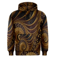 Fractal Spiral Endless Mathematics Men s Pullover Hoodie