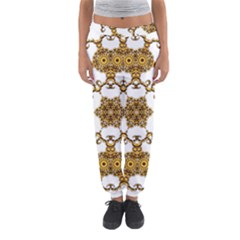 Fractal Tile Construction Design Women s Jogger Sweatpants