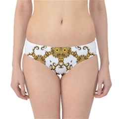 Fractal Tile Construction Design Hipster Bikini Bottoms