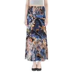 Frost Leaves Winter Park Morning Maxi Skirts