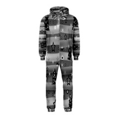 Gray Xmas magic Hooded Jumpsuit (Kids)